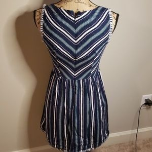 Skies Are Blue Dresses - Skies are blue stripped dress